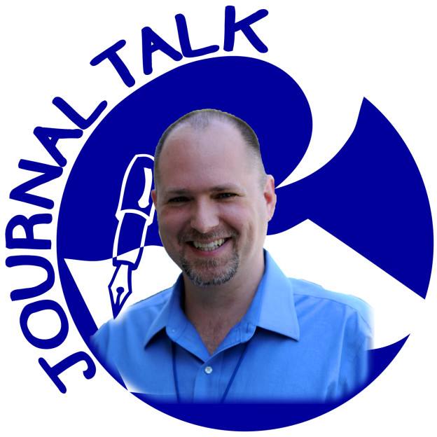 JournalTalk logo with Nathan Ohren